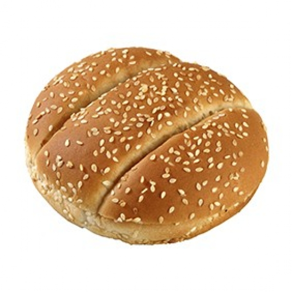 Bun with Sesame Large Double Scored